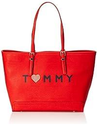 Tommy Hilfiger Damen Honey Ew Tote Love Tommy, 13 x 32 x 48 cm