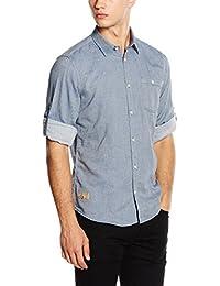 TOM TAILOR Herren Freizeithemd Floyd Cool Structure Shirt