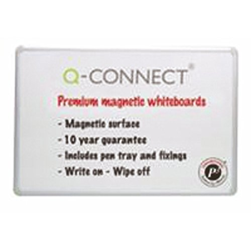 Bargain Q-Connect 1800mm x 1200mm Premium Magnetic Dry Wipe Board Review