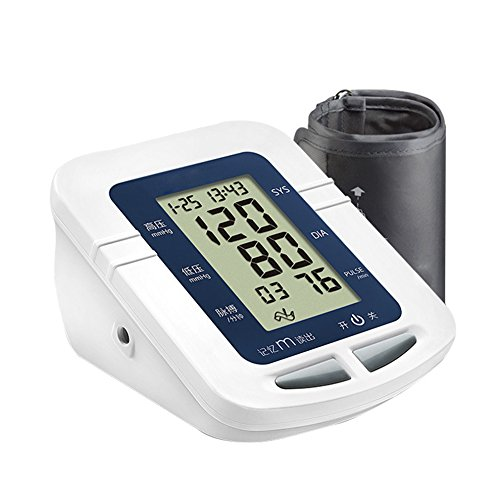 ZCCZ Hoch-Arm elektronische Blutdruckmessgerät Mess-Instrument Automatische Blutdruck Instrument Stimme übertragen