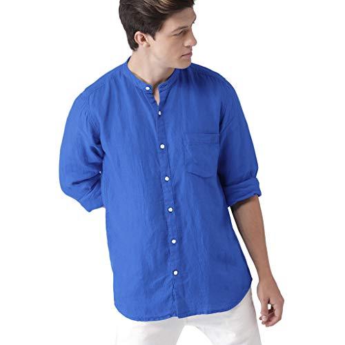 Vovotrade Uomo Camicia Slim Fit Maniche Lungo Eleganti Maglie a Manica Lunga