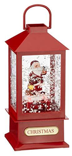 Schneelaterne Santa S | Xmas | Santa Claus | Christmas | Nikolaus | Advent | Weihnachten | Laterne | Geschenkidee | Preis am Stiel®
