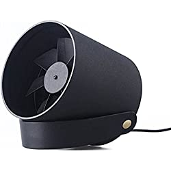 GLEADING Ventilateur USB Intelligent avec Contrôle Tactile, Ultra Silencieux, Ventilateur de Refroidissement PC/Laptop pour la Maison, Le Bureau et Les Voyages