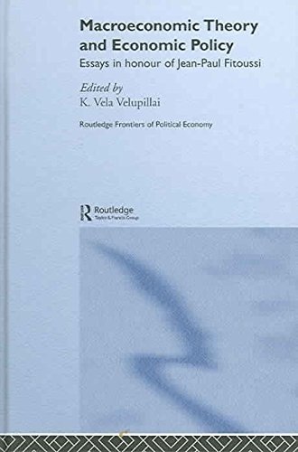 [(M-Economic Theory & Econ Policy : Essays in Honour of Jean-Paul Fitoussi)] [By (author) K. Vela Velupillai ] published on (January, 2005)