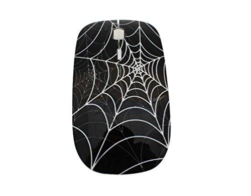 Creative Büro Wireless Slim Maus Optische Wireless Mouse Maus Maus orange Spider Web schwarz wireless black