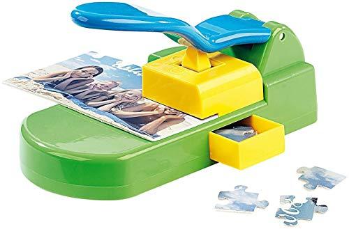 Monsterzeug Puzzle Maker, Puzzlemaschine, Puzzle Stanzer mit Klebe-Puzzle-Kartons, DIY Puzzles, Kreatives Geschenk, Format 10 x 15 cm