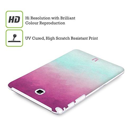Head Case Designs Highcross Stampa A Croce Cover Morbida In Gel Per Apple iPhone 7 / iPhone 8 Porpora E Blu Chiaro