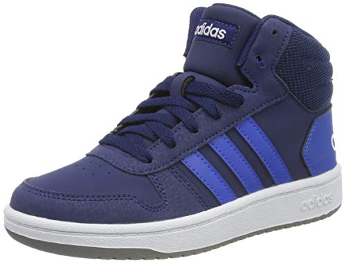 adidas Hoops Mid 2.0 K, Scarpe da Basket Unisex-Adulto, Multicolore (Azuosc/Azul/Ftwbla 000), 39 1/3 EU