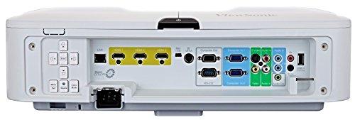 Viewsonic PRO8520WL Business DLP Projektor (WXGA, 5.200 ANSI Lumen, 4x HDMI, 2x 10 Watt Lautsprecher, 1.6x optischer Zoom, Lens-Shift) Weiß
