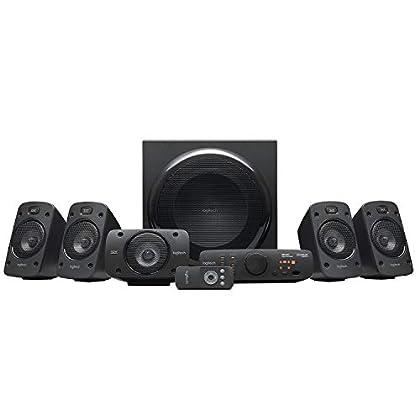 Logitech Z906 - Altavoces estéreo, sonido envol...