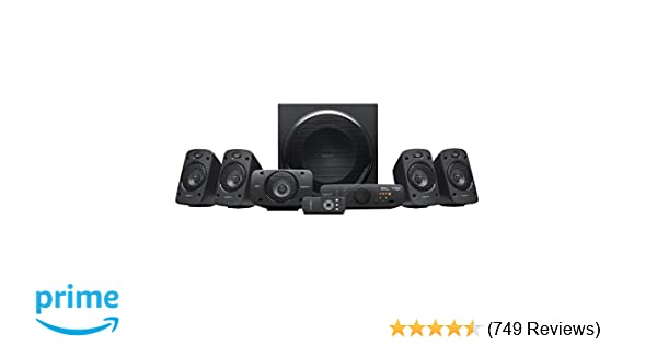 8d8a08b9eb3 Logitech Z906 Stereo Speakers 3D 5.1 Dolby Surround Sound, THX, 1000 W,  Ideal For TV and Living Room: Amazon.co.uk: Computers & Accessories