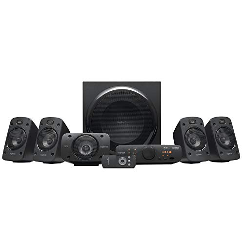 Altoparlanti Stereo 3D Logitech Z906 Dolby Surround Sound 5.1, THX, 1000 W, per TV e Soggiorno
