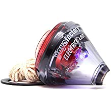 Trompo Elec-Trick LED (Ilumina) - Negro / Rojo (freestyle ball bearing spintop)