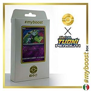 Meloetta 104/214 Holo Reverse - #myboost X Sole E Luna 8 Tuoni Perduti Box de 10 Cartas Pokémon Italiano