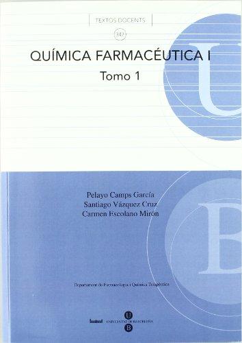 Química farmacéutica I por Carmen Escolano Mir¥n y