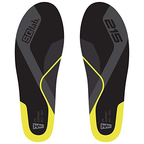 SQlab 215 SUPPORT, Gelb, XL, Einlegesohlen für neutrale Füße