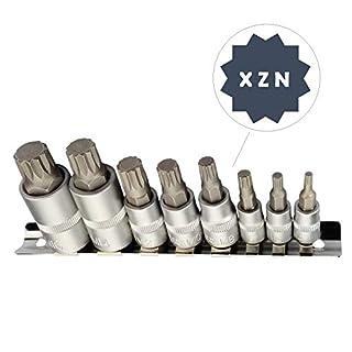 Vielzahn Stecknuss Schlüssel Set M4 M5 M6 M8 M10 M12 M14 M16 Innenvielzahn Bits