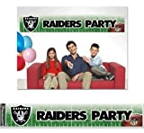Banner NFL Oakland Raiders WCR48848011, 12 x 65