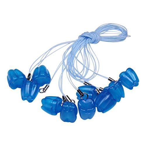 er Halskette Kreative Kunststoff Zahn Box für Baby ()