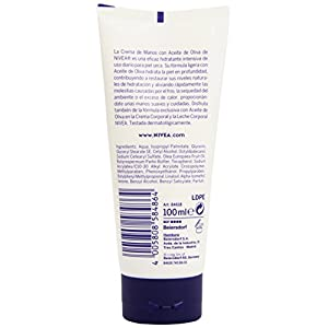 41tnKC8LlmL. SS300  - Nivea-Crema-de-Manos-Aceite-de-Oliva-100-ml