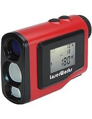 BW Golf 1000Pro de gamme de laser–1000m de portée, 4,6cm, écran LCD, Goniomètre, mât Serrure, Brouillard Mode, résistant aux intempéries