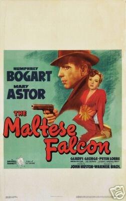 Der Maltesische Falcon Film Poster Humphrey Bogart Rare 2