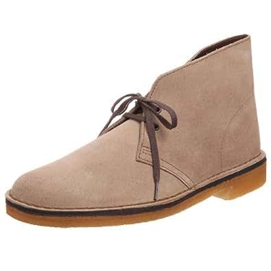 Clarks Originals 11176 Scarpe stringate Desert Boot, Uomo, Beige (Wolf), 39.5