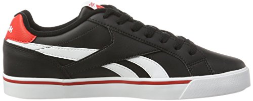 Reebok Herren Royal Complete 2ll Turnschuhe Schwarz (Black/White/Riot Red)