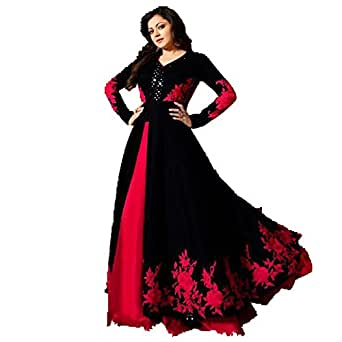 Royal Export Women's Bangalori Silk Party Wear Gown