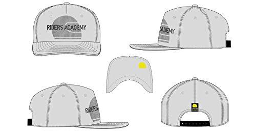 e3f4520098355 VR46 Gorra Visera Plana Ajustable Valentino Rossi Team Riders Academy