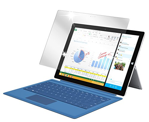 dipos I 2X Schutzfolie klar passend für Microsoft Surface Pro 3 Folie Displayschutzfolie
