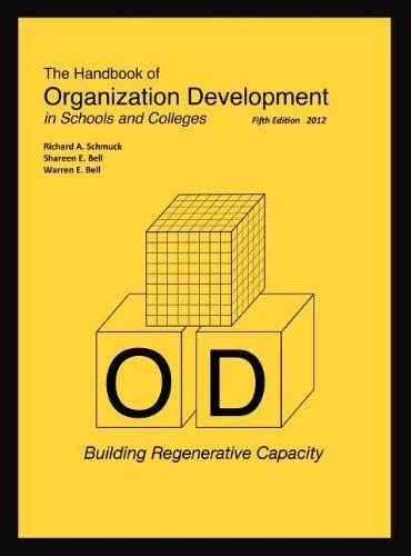 The Handbook of Organization Development in Schools and Colleges: Building Regenerative Capacity