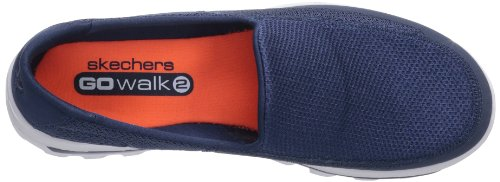 Skechers Go Walk 2, Scarpe Sportive Uomo Blu (Nvgy)