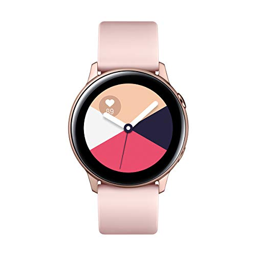 "Samsung Galaxy Watch Active - Smartwatch (1,1"",40mm, Tizen, 768 MB de RAM, Memoria Interna de 4 GB), Color rosa - Versión Española"
