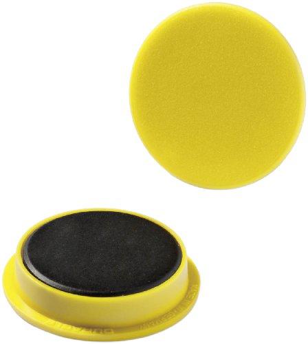 Preisvergleich Produktbild Durable 475304 Magnete (Industrieverpackung,  32 mm,  720p) 20 Stück gelb
