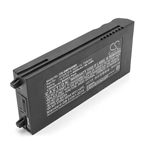 vhbw Batería li-on 4400mAh (14.8V) para tecnología médica como equipo de ultrasonido reemplaza GE 5120410-2, 5422172, TWBP42