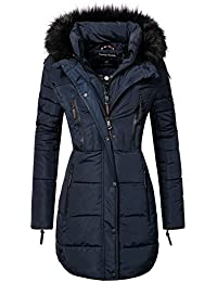 Marikoo Damen Winter Mantel Steppmantel Moonshine (Vegan Hergestellt) 6 Farben XS-XXL
