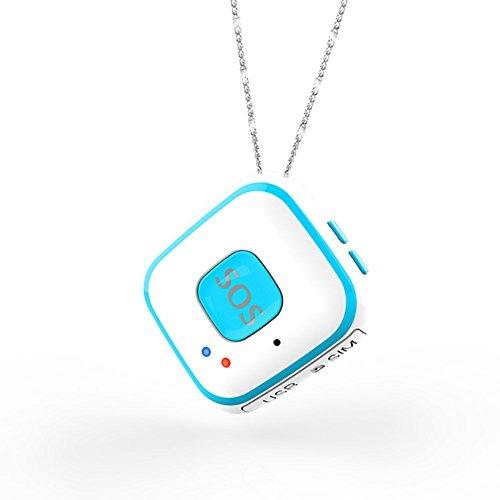 Rokoo GPS-Tracking-System mit Echtzeit-SOS-Alarm 2-Wege-Voice-Spy-Modus Geo-Zaun Alert GPS-Tracking-Anhänger für Kinder Senioren (Gps-spy-tracking-geräte)