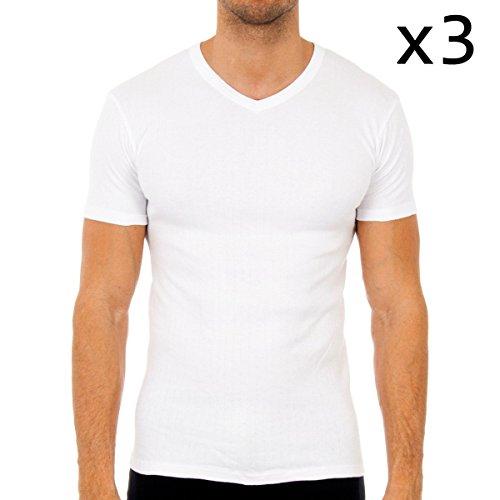 Pack-3 camisetas m/corta termica