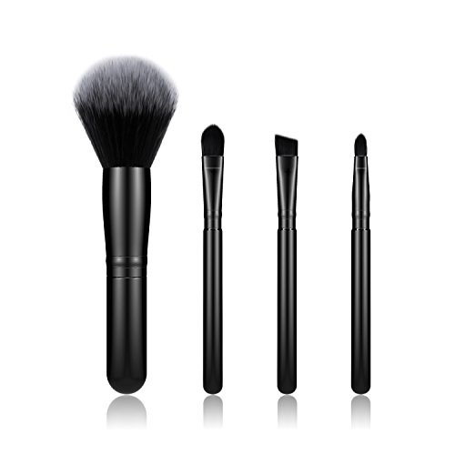 BESTOPE Make-up PinselSet 4 Stück Make-up Pinsel Kosmetik PinselsetsFoundation Blending Blush Eyeliner Gesicht Pulver Pinsel Make-up Pinsel Kit (Make Pulver Gesichts Up Weiße)