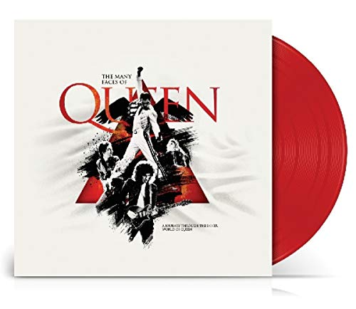 The Many Faces of Queen (Red Vinyl Limited Edt 180 Gr.)