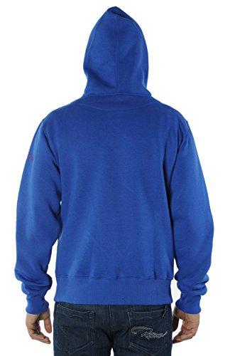 REDRUM 3D Print Digital Fullprint Design Hoody Hoodie Kapuzenpullover Pullover mit Kapuze Herren Streetwear New World Blau