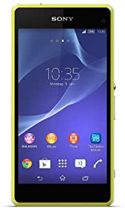 Sony Xperia Z1 Compact Smartphone (4,3 Zoll (10,9 cm) Touch-Display, 16 GB Speicher, Android 4.3) lime