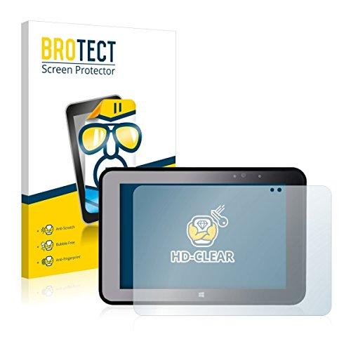 2X BROTECT HD Clear Bildschirmschutz Schutzfolie für Pokini Tab A10 (kristallklar, extrem Kratzfest, schmutzabweisend)