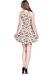 CowCow Womens Food and Drink Eat Munchies Sleeveless Skater Dress, XS-5XL