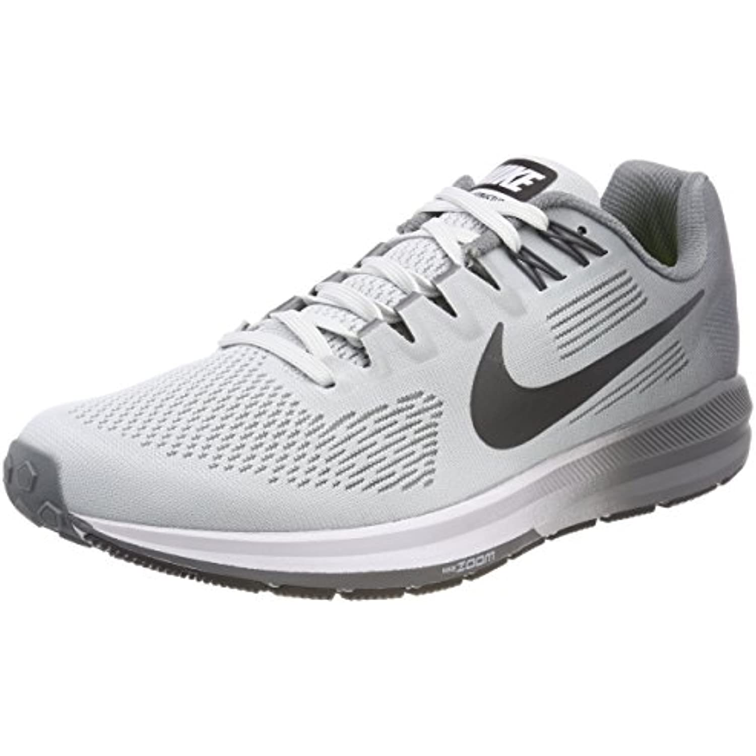 NIKE Air Zoom Structure Homme 21, Sneakers Basses Homme Structure - B0767M1KX2 - febd7f