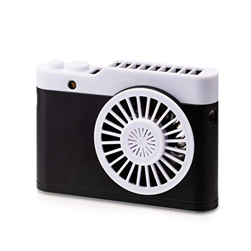 Blling CaméRa Mini Ventilateur Paresseux Pendaison Commode Ventilateur De Bureau Charge/Petit Ventilateur ExtéRieur/Voyage/Camping Portatif Se Pliant USB Ventilateur Portatif Main Ventilateur à Piles