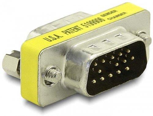 delock-65010-adaptador-vga-vga-macho-macho-plateado
