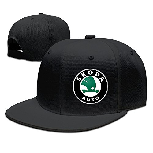 SKODA Logo Adjustable.Fitted Flat Baseball Cap