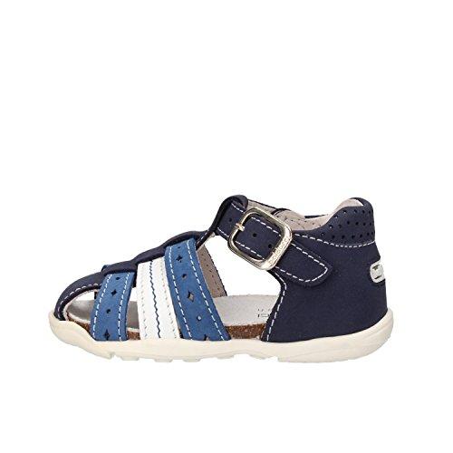 BALDUCCI sandali bambino blu pelle scamosciata AF352 (18 EU)